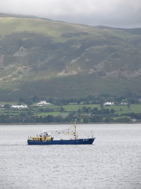 The Ex-Maria Gratia on Carlingford Lough