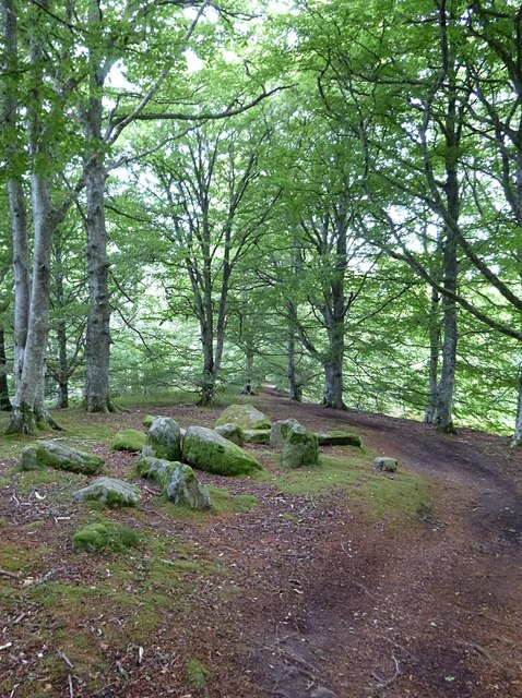 Lowerbog chambered cairn