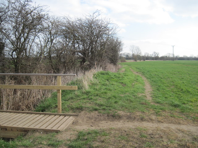 Footbridge  over  Drain