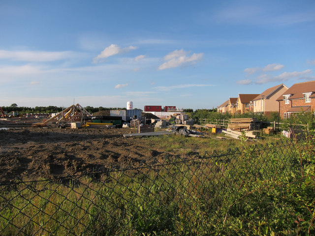 New housing, St Neots