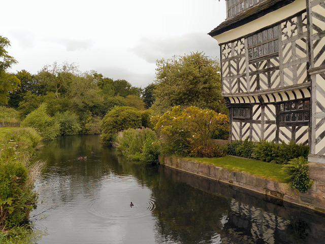 The Moat, Little Moreton Hall