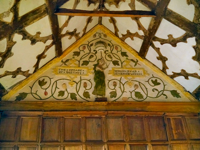 Destiny, The Long Gallery at Little Moreton Hall
