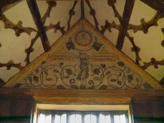 Fortune, The Long Gallery at Little Moreton Hall