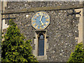TQ2965 : Clock of St Mary, Beddington by Stephen Craven