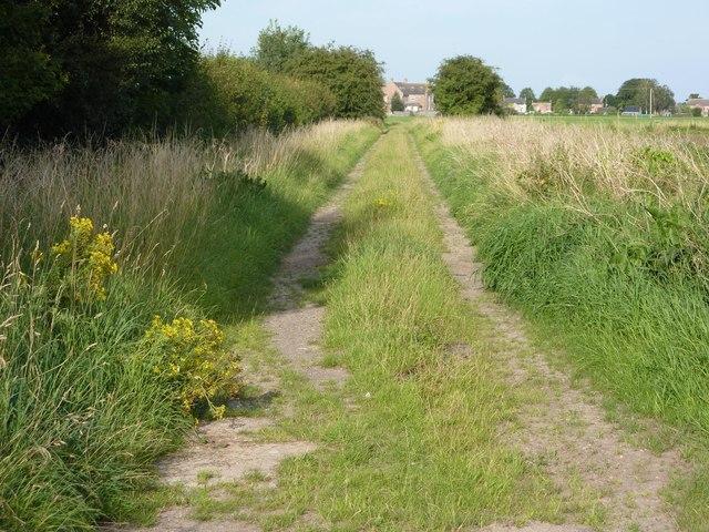 Railway trackbed