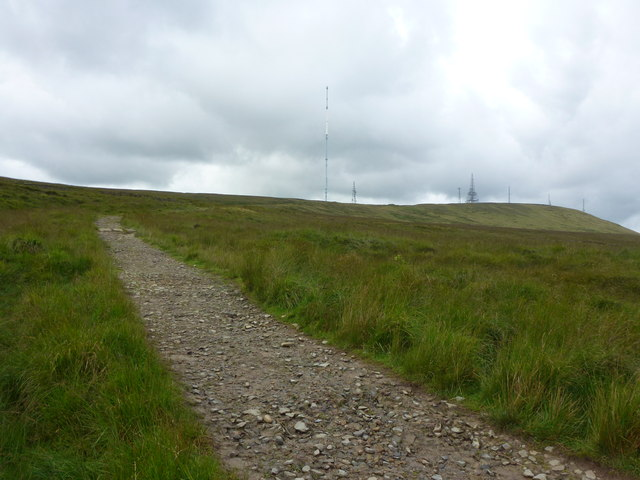 Footpath up Winter Hill