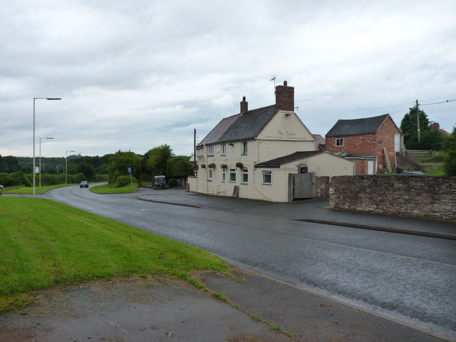 The former Last Inn - now The Aston