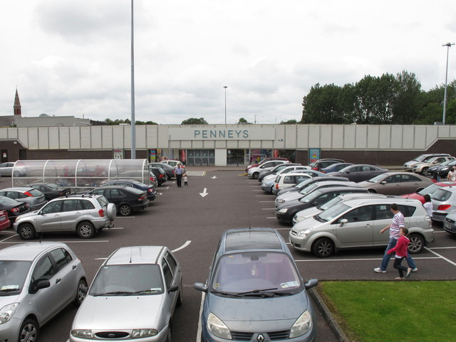 Car Park And Department Store Wilton David Hawgood