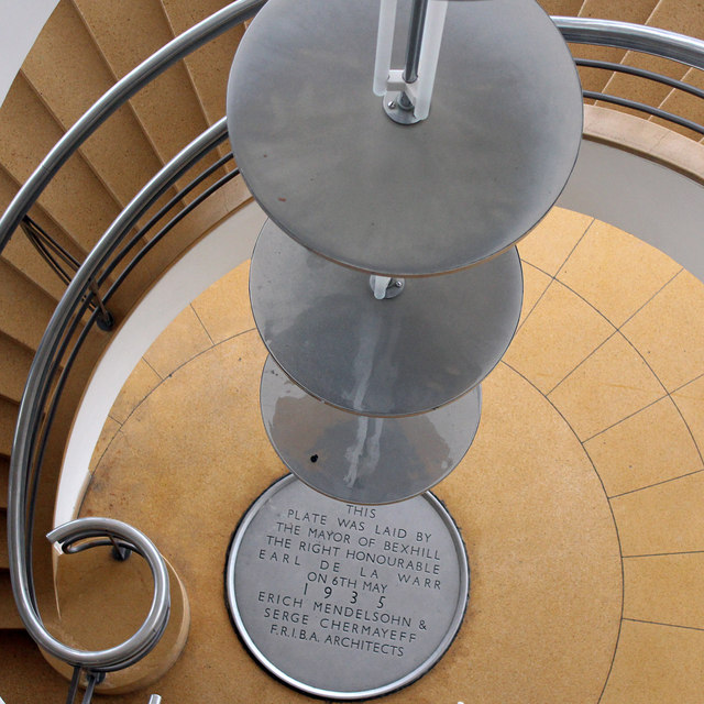 Spiral Staircase, De La Warr Pavilion