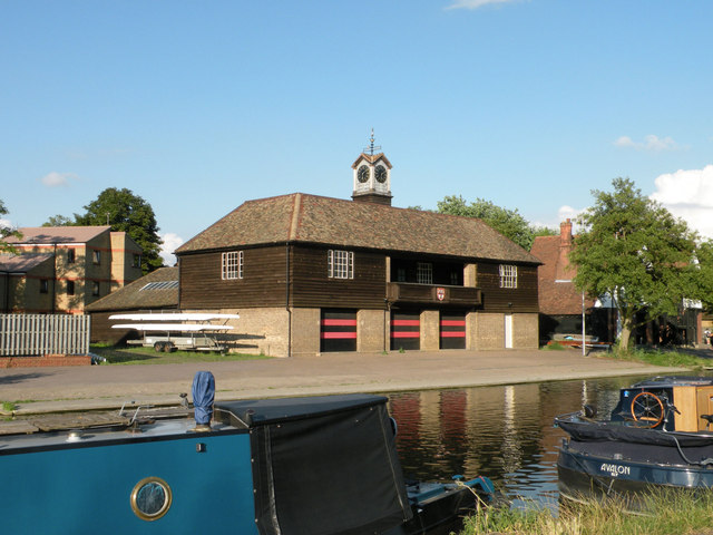 Jesus College boathouse