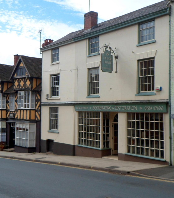 Grade II listed 12 Old Street, Ludlow