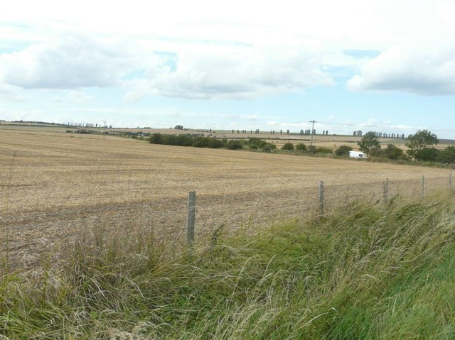 View northwest from Harty Ferry Road