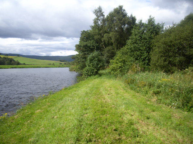 North bank of River Dee