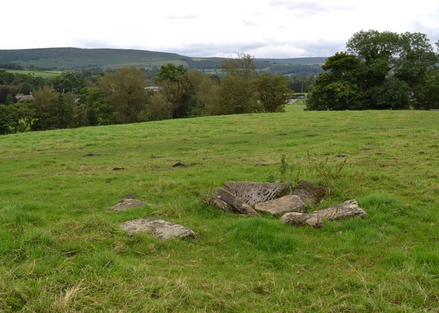 The site of Navio - the Roman fort at Brough, Derbyshire