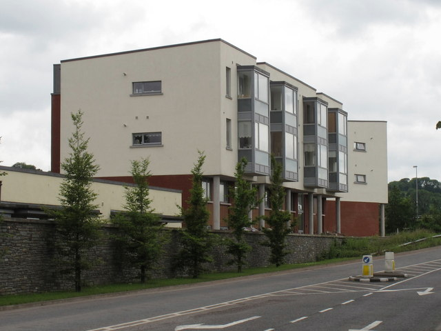 Modern houses on Curraheen Road, Cork