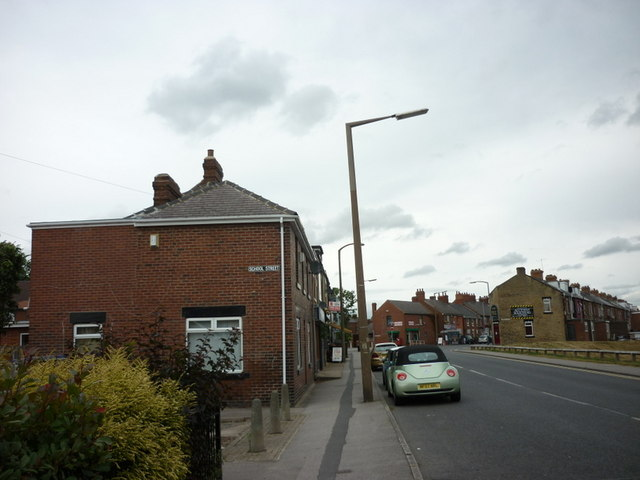 Pontefract Road, Upper Cudworth