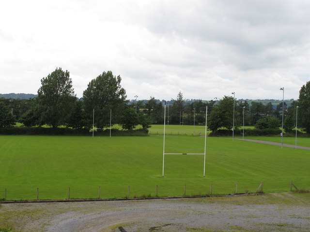 Rugby pitches, Curraheen