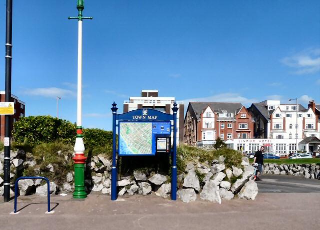 Town Map dispenser