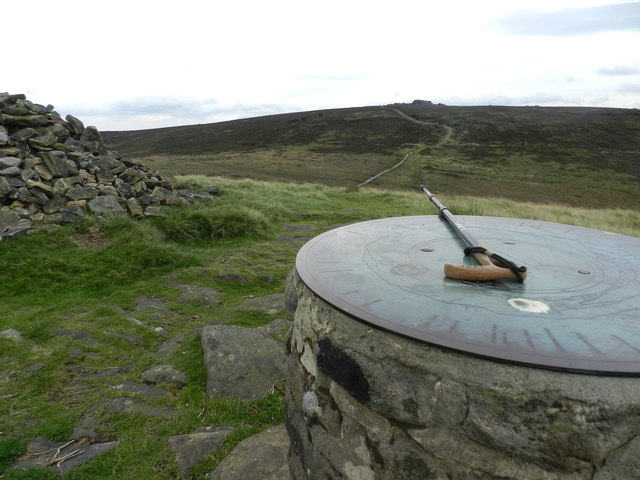 Cairn and toposcope at Lost Lad