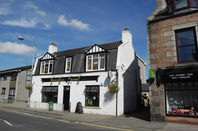 The Butcher's Arms, West High Street, Inverurie