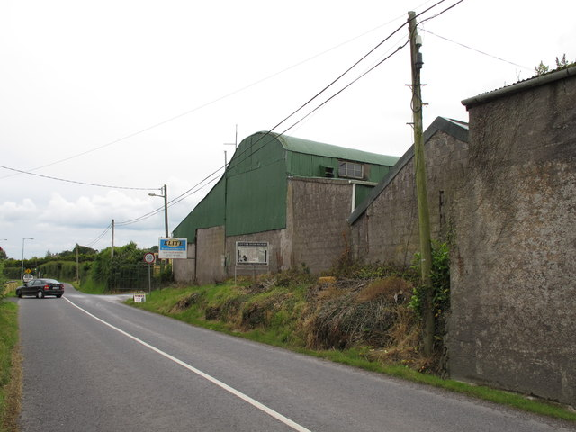 Industrial buildings at Hobbs Yard