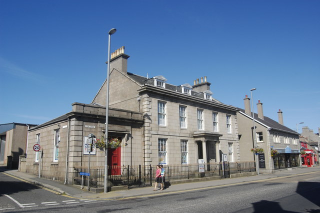 Former Clydesdale Bank, High Street, Inverurie