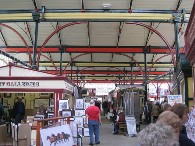 Stockport Market Hall interior