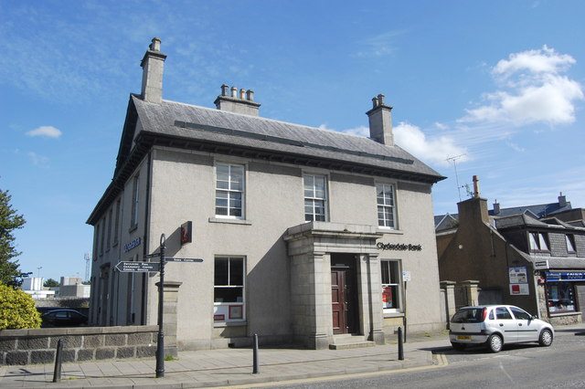 Clydesdale Bank, West High Street, Inverurie