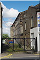 SD8332 : Gateway to the rear of Albert Mill, Trafalgar Street, Burnley by Alexander P Kapp