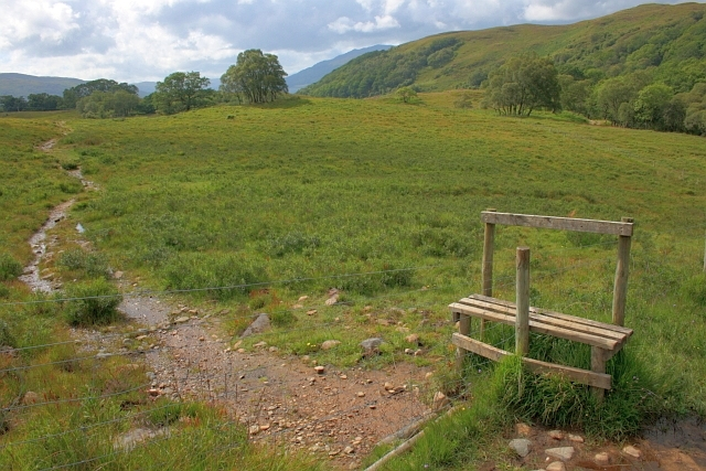 Stile on the Footpath to Beinn Resipol