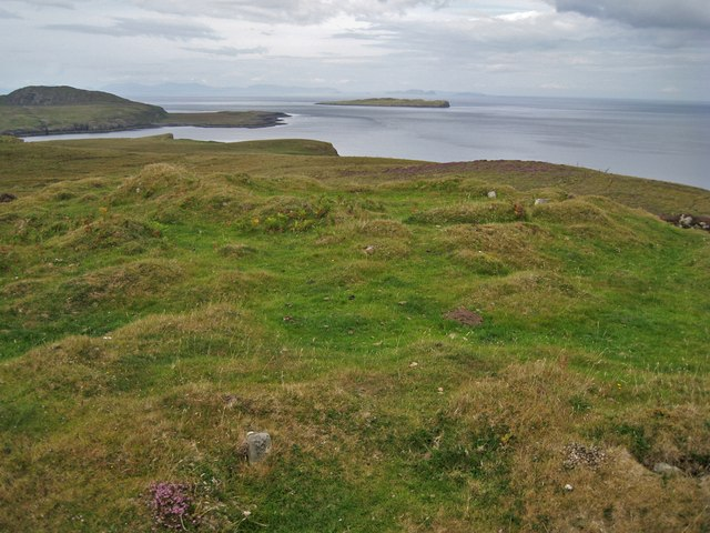 Remains of Tom na h-Uraich Dun