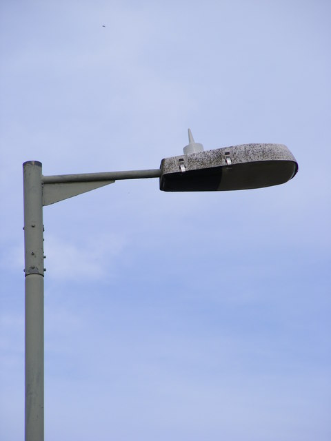 Lamp Post and aerial for central switching