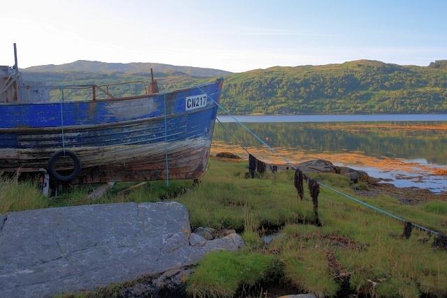 Abandoned Boat, Loch Sunart