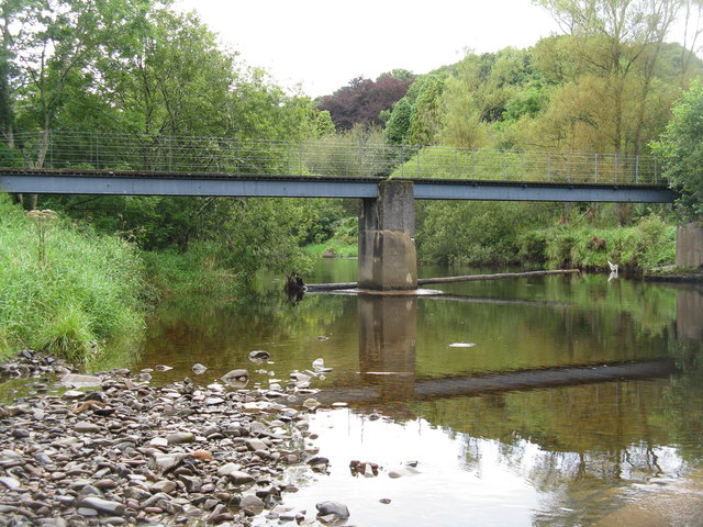 Footpath bridge over the Whiteadder Water