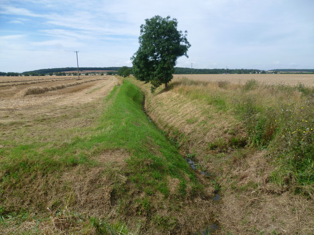 Drainage ditch near Grange Farm