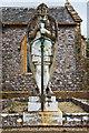 ST3708 : St Thomas's church, Cricket St Thomas - monument to Viscount Bridport : Week 34