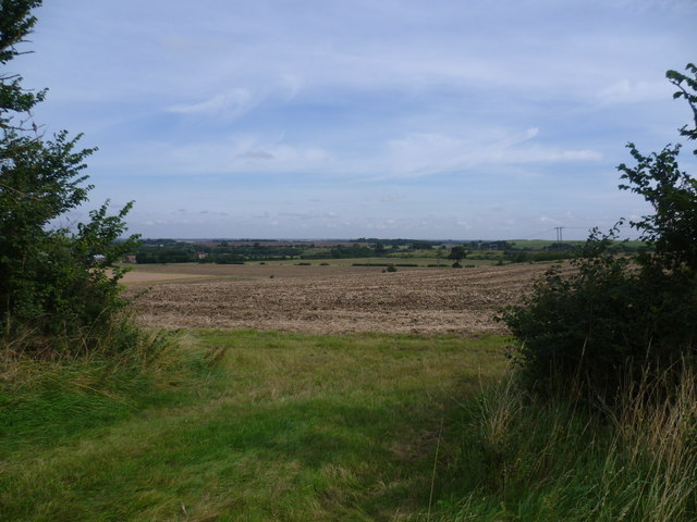The view from the top of Walton Hill