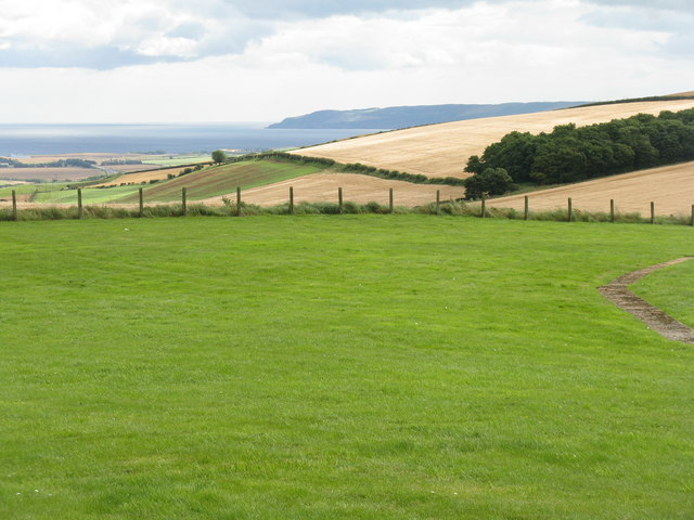 Looking across to Fast Castle