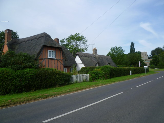Station Road, Abbots Ripton