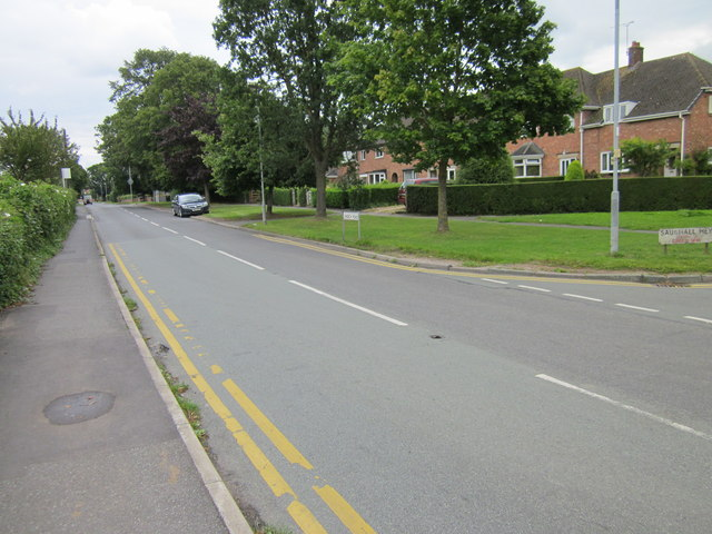 Church Road, Saughall