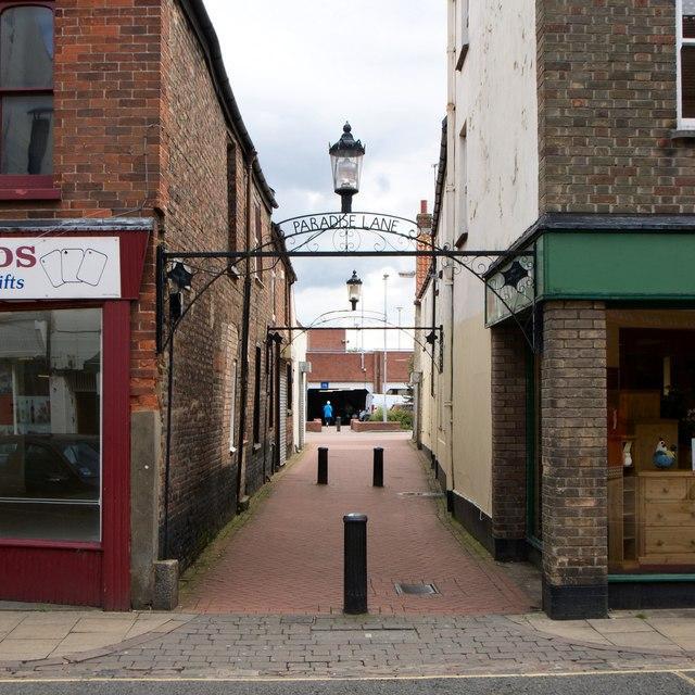 Paradise Lane, King's Lynn