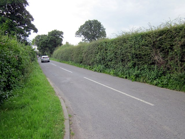 Fiddlers Lane near Saughall
