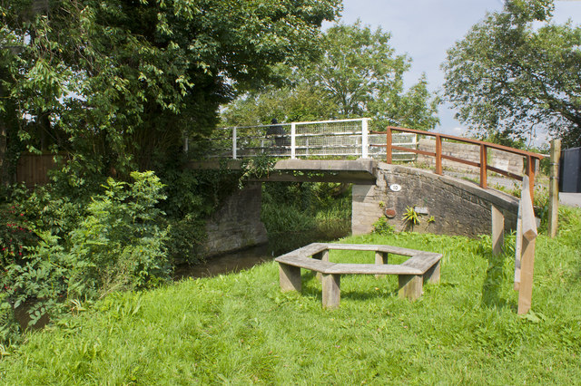 Bridge 10 on the Rufford branch of the Leeds and Liverpool Canal at Lock Lane, Sollom
