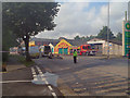 SD7807 : Police Cordon, Bury Road by David Dixon