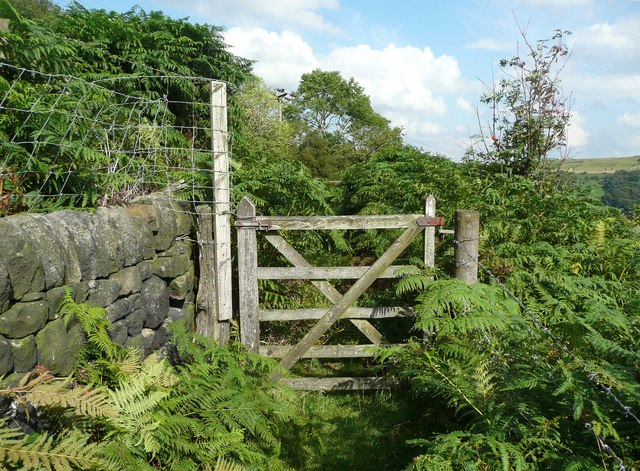 Gate on Hebden Royd FP 68