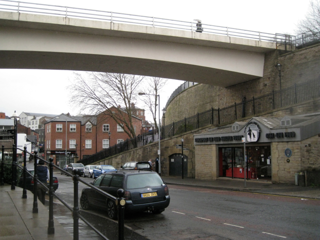 Stockport Air Raid Shelters, Chestergate