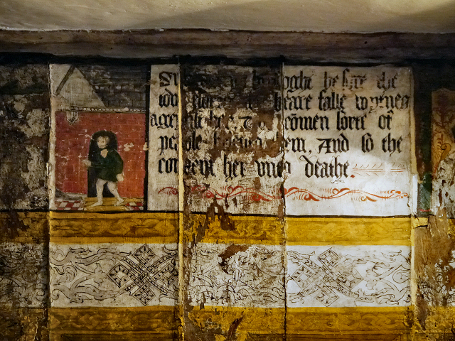 Parlour Wall Paintings, Little Moreton Hall