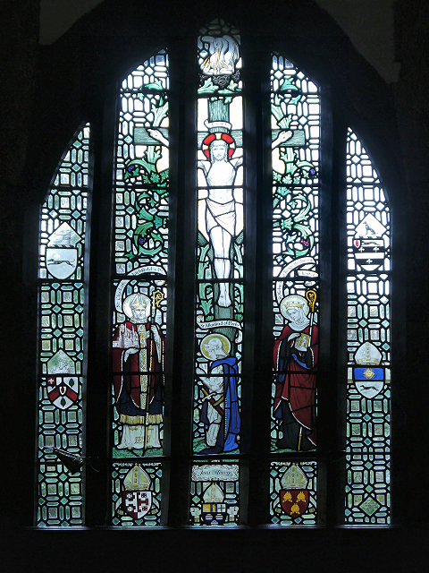 The Chapel Window, Little Moreton Hall