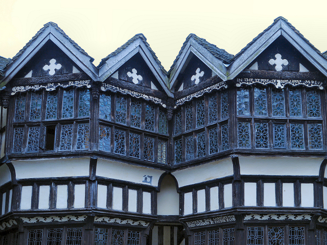 The Gabled Windows, Little Moreton Hall