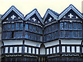 SJ8358 : The Gabled Windows, Little Moreton Hall by David Dixon